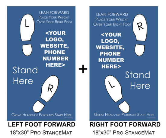 Combo Package - Left and Right Foot Forward Pro StanceMats