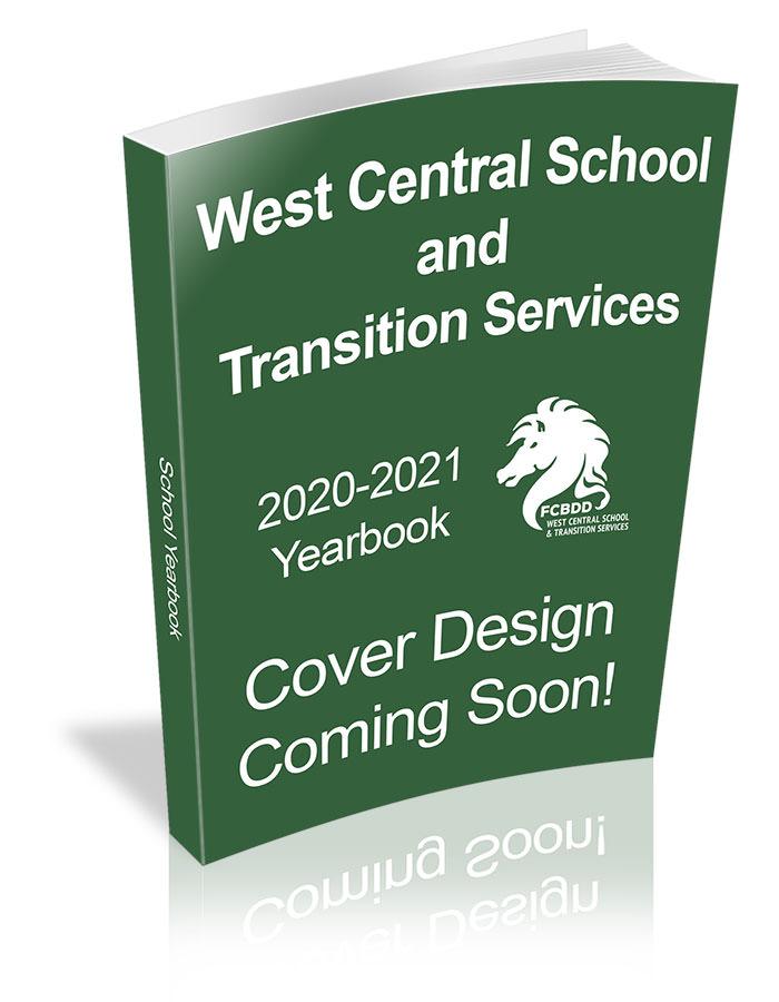 West Central School Yearbook placeholder design