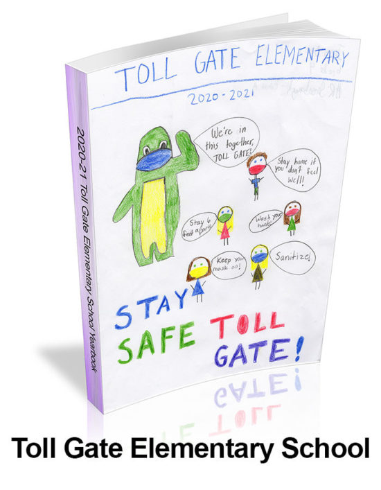 2020-21 Toll Gate Elementary School Yearbook Cover
